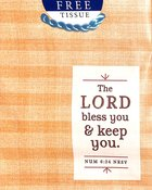 Gift Bag Small: Lord Bless You (Incl Two Sheets Tissue Paper & Gift Tag) Stationery