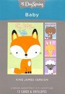 Boxed Cards Baby: Big Characters Box