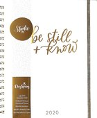 2020 18-Month Premium Devotional Diary/Planners: Be Still & Know Spiral