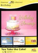 Boxed Cards: Birthday - You Take the Cake! (Niv) Box