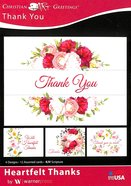 Boxed Cards: Thank You - Heartfelt Thanks (Kjv) Box