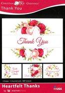 Boxed Cards: Thank You - Heartfelt Thanks (Kjv) Box