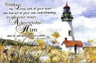 Poster Small: Trust in the Lord, Lighthouse Poster