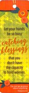 Bookmark With Tassel: Catching Blessings Stationery