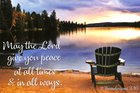 Poster Small: Peace At All Times Poster