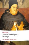 Selected Philosophical Writings (Oxford World's Classics Series) Paperback