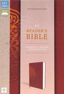 NIV Reader's Bible Brown (Black Letter Edition)