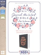 NIV Journal the Word Bible For Women Navy (Red Letter Edition) Hardback