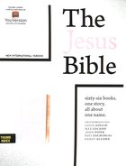 NIV the Jesus Bible Indexed Pink Imitation Leather Over Hardback