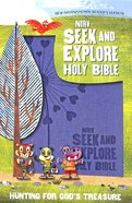 NIRV Seek and Explore Holy Bible Periwinkle (Black Letter Edition) Premium Imitation Leather