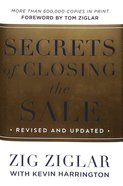 Secrets of Closing the Sale Hardback