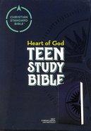 CSB Heart of God Teen Study Bible Navy Compass Design