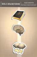 Bible Brainstorms: Word Games & Puzzles From the Gospels Paperback