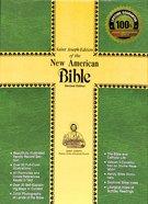 Nab Saint Joseph Personal Size Bible Burgundy Zipper Bonded Leather