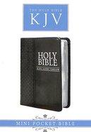 KJV Mini Pocket Edition Black (Black Letter Edition)