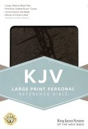KJV Large Print Personal Reference Bible Charcoal Imitation Leather