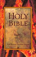 NRSV Holy Bible Black Letter With Maps and Reader Aids Paperback
