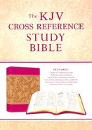 KJV Cross Reference Study Bible Compact Peony Blossoms (Red Letter Edition)