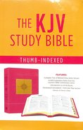 KJV Go-Anywhere Study Bible Primrose Compass Imitation Leather