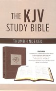 KJV Go-Anywhere Study Bible Cedar Compass Imitation Leather