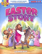 The Easter Story (Ages 2-4 Reproducible) (Warner Press Colouring/activity Under 5's Series) Paperback