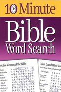 10 Minute Bible Word Search Paperback