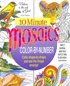 Acb: 10 Minute Mosaics  Color-By-Number Paperback