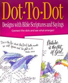 Acb: Dot to Dot Designs With Bible Scriptures and Sayings Paperback