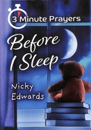 3-Minute Prayers Before I Sleep Paperback