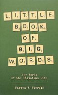 Little Book of Big Words Paperback