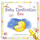 Baby Dedication Box (Incl: Baby's Bible Stories; Baby's First Prayers; My Baby Record Book)