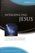 Introducing Jesus: John 1-4 (Interactive Bible Study Series) Paperback