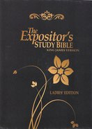 KJV Expositor's Study Bible Ladies Edition Bonded Leather
