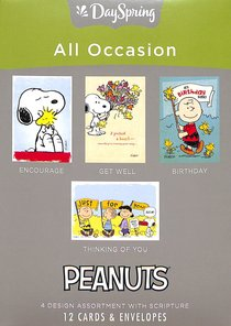 Boxed Cards All Occasion: Peanuts