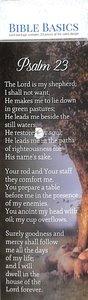 Psalm 23 , Shepherds/Sheep Under a Tree (10 Pack) (Bible Basics Bookmark Series)