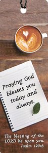 Bookmark With Tassel: God Blesses You