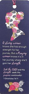Tassel Bookmark: Strong Woman Knows, a - 1 Chronicles 16:11