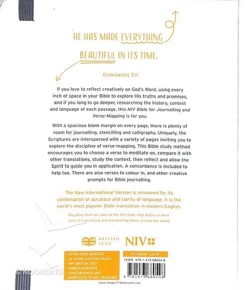 NIV Verse Mapping Bible Kintsugi Grey