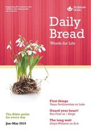 Daily Bread Adults 2019 #01: Jan-Mar