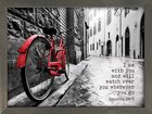 Wall Art: I Am With You and Will Watch Over You Wherever You Go (Genesis 28:15) Plaque