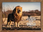 Wall Art: The Lord is My Strength and My Shield (Psalm 28:7) Plaque