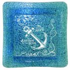 Nautical Collection: Hope as An Anchor For the Soul - Large Square Glass Tray Homeware