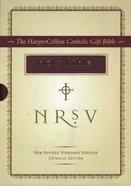 NRSV Harper Collins Catholic Gift Bible Burgundy Anglicized Imitation Leather