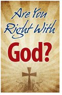 Are You Right With God? (25 Pack) Booklet