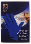 What Do Christians Believe? (Auslan Bible- Fully Signed Translations Taken From The Holy Bible) DVD