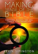 Making Sense of the Bible Paperback