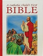 NRSV Catholic Child's First Bible Hardback