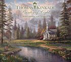 2020 Wall Calendar: Thomas Kinkade Painter of Light With Scripture Calendar