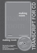 Making Room (Transcript) (York Courses Series) Booklet