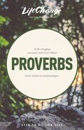 Proverbs (Lifechange Study Series) Paperback